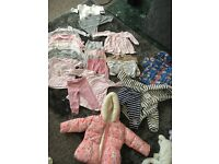 Mothercare, next, river island size 6-9 girls bundle