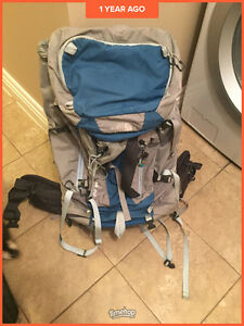 60 Litre North Face  Backpack