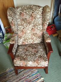 Arm chair / sitting chair vintage