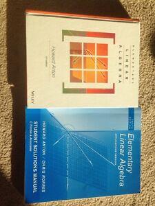 Elementary linear algebra & ssm London Ontario image 1