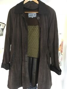 Women's Laurence Roy leather/suede  coat