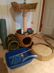 FULL cat set up - BARELY used, available together or separate