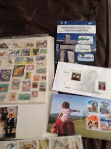 Stamp collection Strathcona County Edmonton Area image 1
