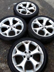 """17"""" Vauxhall Corsa D VXR, Zafira, Saab, Alfa 159 alloy wheels (401)"""