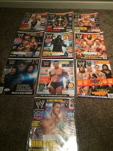 2014 wwe wwf magazine lot collection