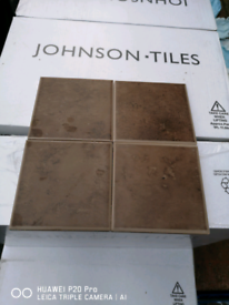 Brown wall tile 100x100mm each pack cover 1sqm.100 tile in the box