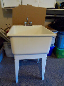 Laundry Tub and Faucet