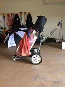 Electric Golf Cart and Accessories