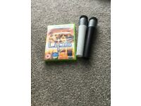 Lips for Xbox 360 with two microphones
