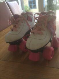 Girls roller boots/skates size 12