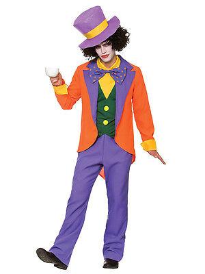 Mad Hatter Alice In Wonderland Mens Fancy Dress Adult Book Week Costume New](Alice In Wonderland Mens Costumes)