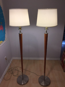 Floor Lamps and Table Lamps for Sale
