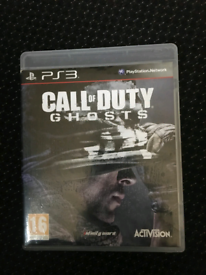 Mint condition like new / ps3 game/ call of duty GHOST