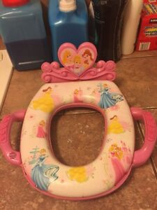 Disney princess theme toilet seat