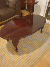 Solid wood. Coffee table.