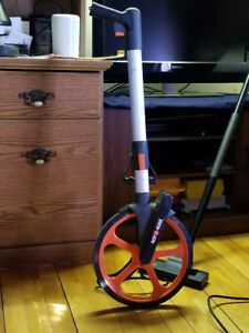 Rotosure Measuring Wheel 32cm with kickstand. $50 OBO