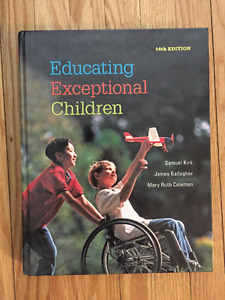 Educating Exceptional Children Textbook
