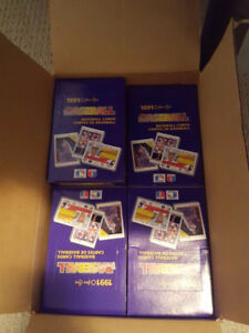 Last Unopened Box of 1991 Premier Baseball Cards