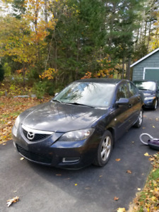 2008 Mazda 3 with Winter Tires and Rims