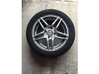 "15""x4 Ford KA alloy wheels and tyres to fit 195/50 R 15 V"