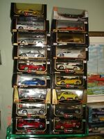 Auto collection miniature diecast 1/18 die cast exotique