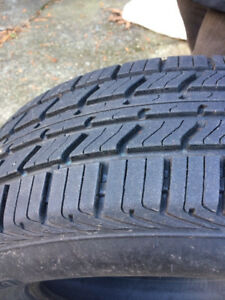 Barely used set of all season radial tires.