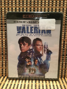 Valarian And The City Of A Thousand Planets 4K (2-Disc Blu-ray,