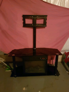 Fire place/tv stand and more!