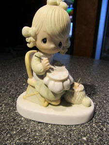 """ Mother sew dear"" Precious Moments figurine."