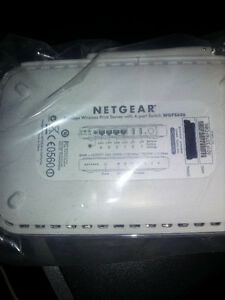netgear 54 mbps server with port switch