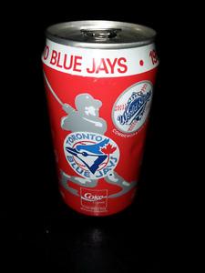 Toronto Blue Jays 1992  World Series Coke Can