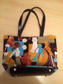 Ladies patterned handbag