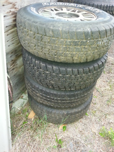 GMC JIMMY tires and rims