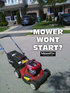Mobile Lawn Mower Repair • Lawnmower Tune Up • Small Engines