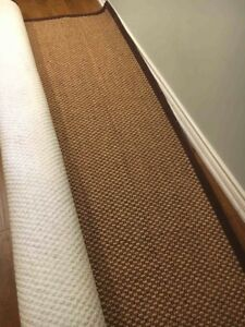 GREAT CARPET: CHOCOLATE SISAL NATURAL AREA RUG 9'X12'Create a