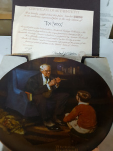 Plate Collection by Norman Rockwell (Heritage Collection)