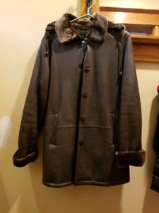 Danier genuine leather coat new never worn