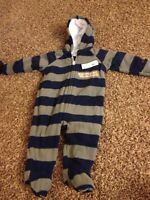 Fleece snow suit new with tags 6-12 months