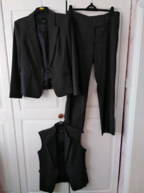 Next Ladies 3 piece Trouser and Skirt Suit Size 14/16