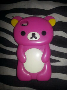 IPHONE 4/4 Pink Rilakkuma Phone Case Cambridge Kitchener Area image 1