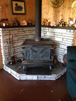 Drolet Wood Stove & Blower