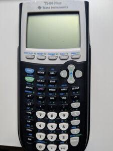 T84- Plus  and T84-Color Silver Edition Calculators