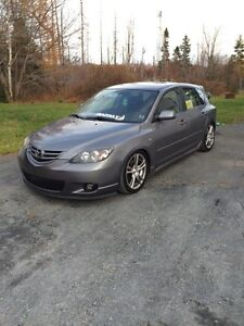 2005 Mazda 3 hatchback with 2010 Ford Fusion motor ( 2.5