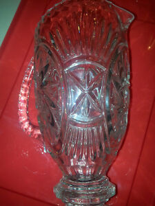 Crystal Pinwheel Water Pitcher Very heavy weight!!!