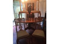 Quality Dining Table and Four Chairs