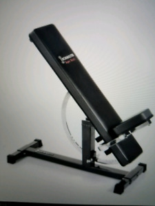 Workout bench dumbells ironmaster