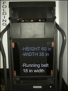 Weslo Cadence 215s folding Treadmill with weight rack