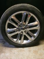 2013 ford f150 limited rims and tires