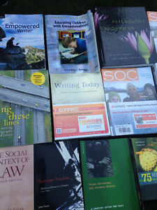 TONS OF TEXT BOOKS.  Social Psych books Etc. London Ontario image 8