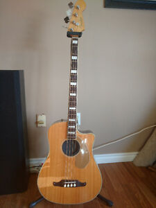 Fender Kingman Acoustic-Electric Bass Guitar
